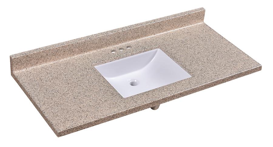 Double Wave Bowl Vanity Tops : Factory direct cabinets vanities counter tops in stock