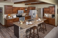 auburn maple kitchen by centerline cabinets