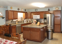 beech kitchen from centerline cabinets