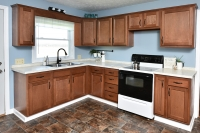 beech kitchen by centerline cabinets