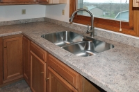 country oak kitchen counter fixtures