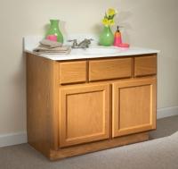 kountry oak vanity from centerline cabinets