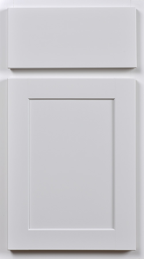 painted white vanity cabinets